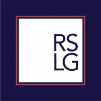 RSLG Square Logo - inverted filled logo combo